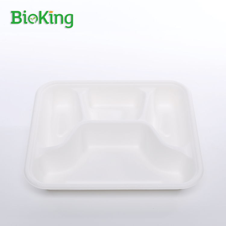 Mini 4- Comparment Food Container